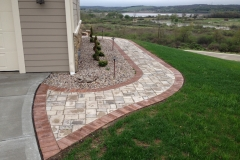 Waukesha Brick Sidewalk by R&R Enterprises